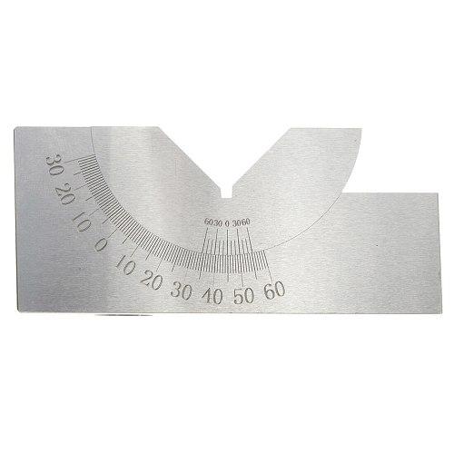 75x25x32mm Precision Mini Adjustable Angle V Block Milling 0 Degree To 60 Degree