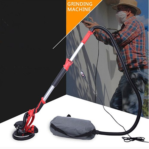 Handheld Drywall Sander with LED Light No Dust Electric Wall Lime Sander Grinding Machine Power
