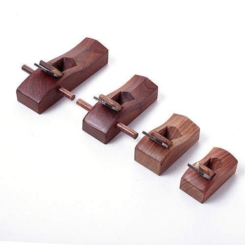1pcs Mahogany Carpenter planer diy woodworking hand with handle 55mm/68mm/98mm/120mm Mini Woodworking Planer
