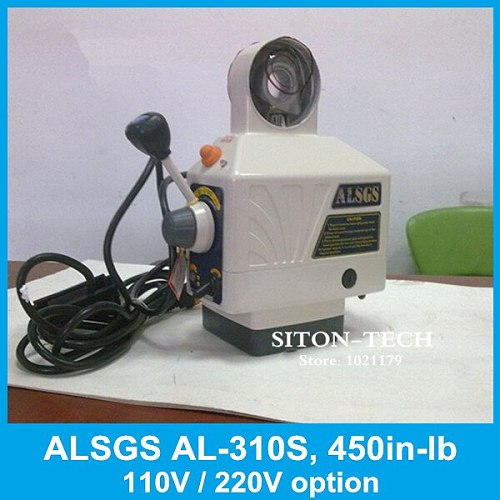 Free Shipping ALSGS AL-310S 110V / 220V milling machine power feed 450 in-lb power feed machinery for X , Y axis mill machine