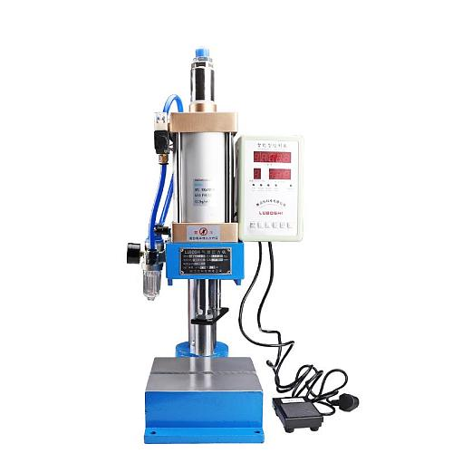 Pneumatic press machine small desktop punch machine press 200KG