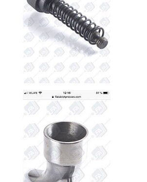 TDP-5 Feeder + spring screw