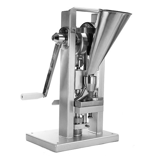 Manual Single punch tablet press, pill press machine, hand-operated pill making