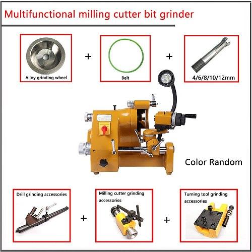 220V High Precision U2 Universal Knife Sharpener, Multi function grinder,Milling cutter  turning tool  drill grinding machine