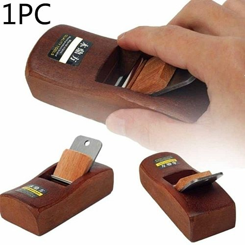 1PC Home Garden Mini Woodworking Flat Plane Wooden Hand Planer Carpenter Woodcraft DIY Tool Wood Planer