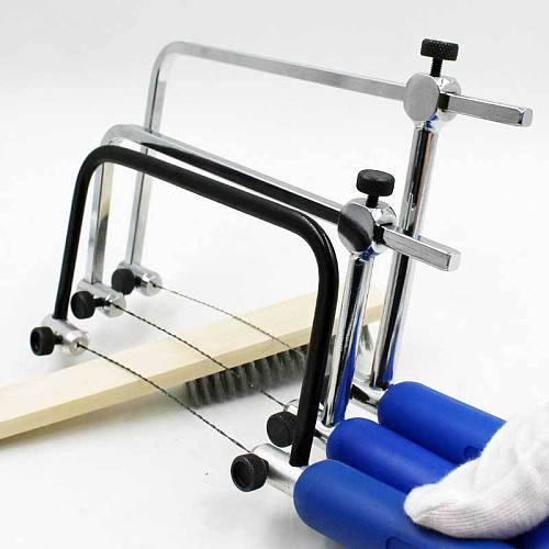 Adjustable Saw Coping Saw Saw Bow For Diamond Jewelry DIY Tools Woodwork Craft Tools Wire Frame Jade Saw Blade Cutting Tool