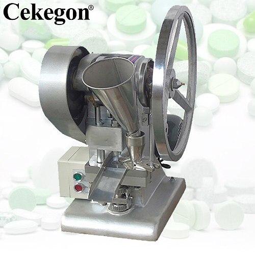 Cekegon  Single Punch Candy Tablet Making Machine Single Punching Tablet Press Herbal Pill Making Machine For DIY Mold