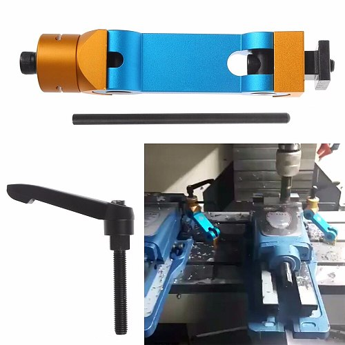 Adjustable Aluminum Alloy CNC Mill Machines Work Stop Locator Tool Part Workpiece New