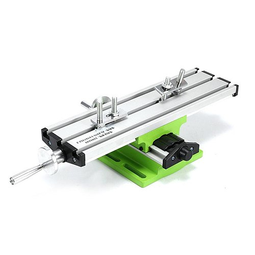 6300 Mini Precision Multifunction Worktable Bench Vise Fixture Drill Milling Machine X And Y-axis Adjustment Coordinate Table