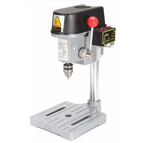 Drill Press Mini Drilling Machine 240W for Bench Machine Table Bit Drilling Chuck 0.6-6.5mm Wood Metal Electrical Tools