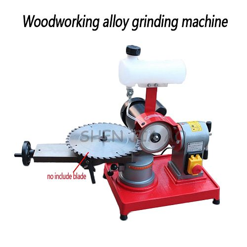 Woodworking alloy saw blade grinding machine small saw gear grinding machine gear grinder machine 220V 370W