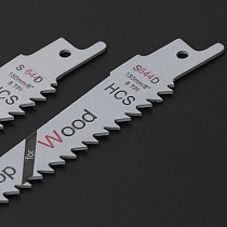 2Pcs 6 Blades Reciprocating Saw Sharp S644D Extra Sabre Pruning For Wood Safety