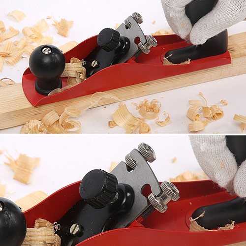 Mini Wood Planer Hand Tool Flat Bottom Wood Trimming Plane for Woodworking Wooden Planing