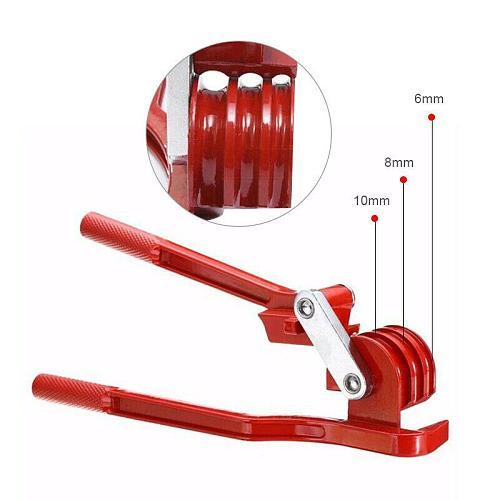 Adeeing 3 in 1 Tubing Pipe Bender 1/4in 5/16in 3/8in Tube Aluminum Copper Steel Fuel Brake Lines