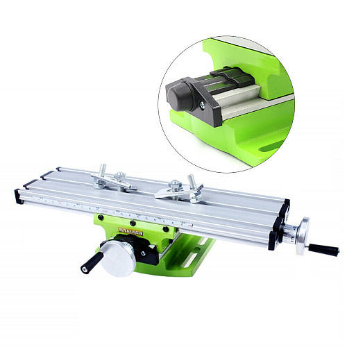 Mini Milling Multifunction Machine Worktable Drill Vise Fixture Table Fixture Worktable X Y For Bench Fixture Adjustment