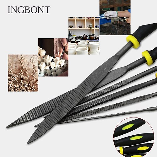 6pcs File Set File Set For Metal Glass Stone Jewelry Gem Stone Wood Carving Craft Tool