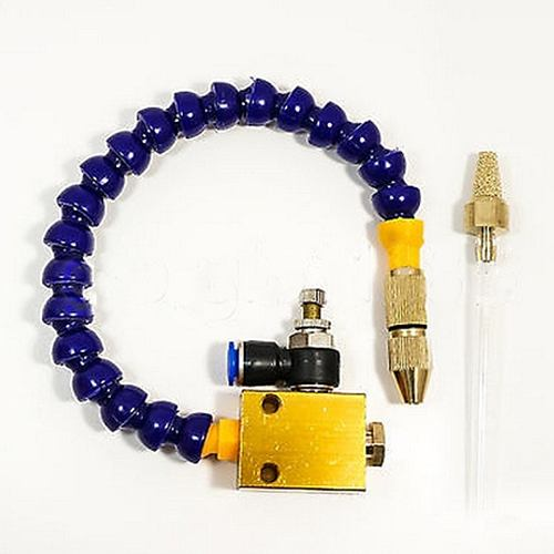Mist Coolant Lubrication Spray System Unit Coolant Misting for Metal Cutting Cooling Milling Engraving Machine CNC Lathe