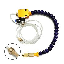 8mm Mist Coolant Lubrication Spray System for Air Pipe Mist CNC Lathe Milling Drill Grind Cooling Machine Tool