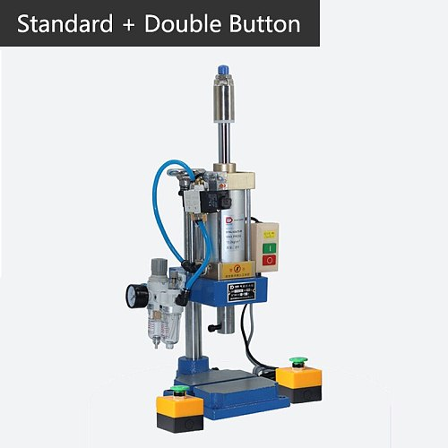 Pneumatic punching machine 200kg single column 63 type bench press small gas spleen high precision riveting machine