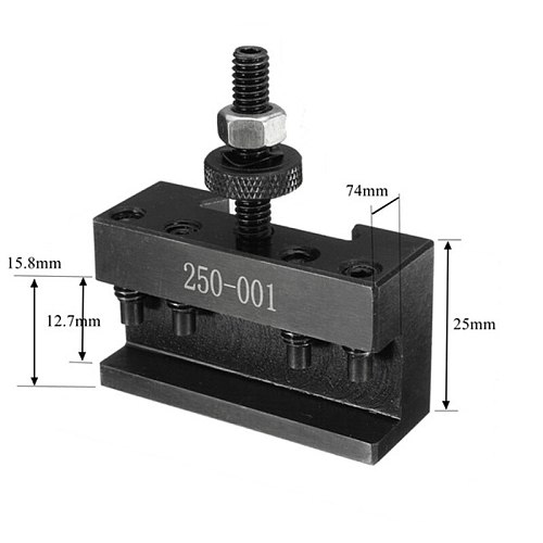 250-001 Cnc Lathe Tool Holder Quick Change Tool Post Cutter Holder Screw Kit Set Boring Bar Turning Facing Holder Wrench
