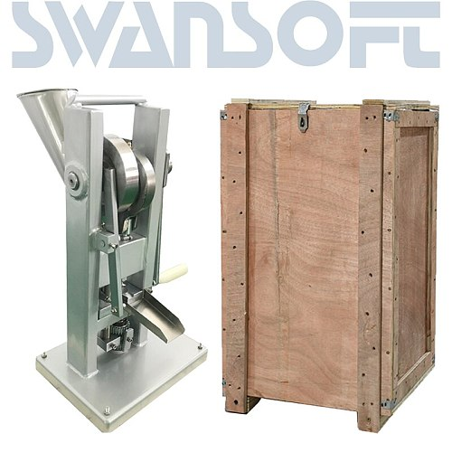 SWANSOFT  hot selling manual single punch tablet press/ pill press machine / pill making /TDP-0 /hand-operated /mini type