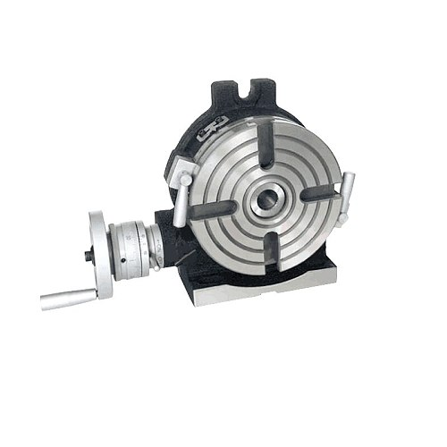 HV6 diameter 150mm vertical and horizontal dual purpose milling machine horizontal vertical rotary table high precision