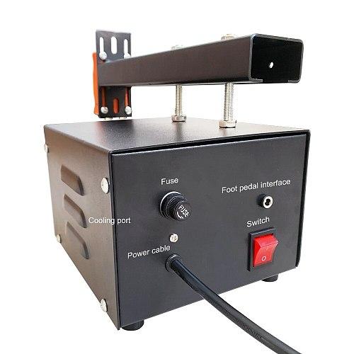 JST-IIS Spot Welder 3KW High Power 18650 Spot Welding Machine Lithium Batteries Pack Nickel Strip Welding Precision Pulse Welder