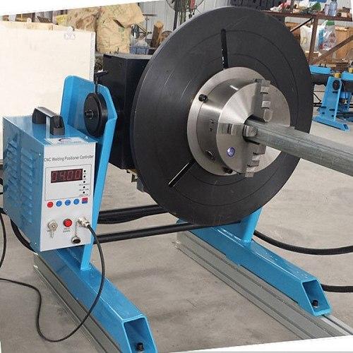 CNC-300 manual tilt model welding positioner without chuck
