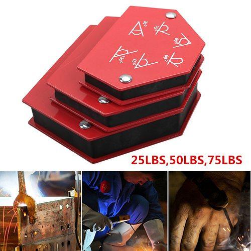 Multi-angle Welding Magnet Welding Holder Arrow Magnetic Clamp for Welding Magnet 25lbs/50lbs/75lbs Welding Locator