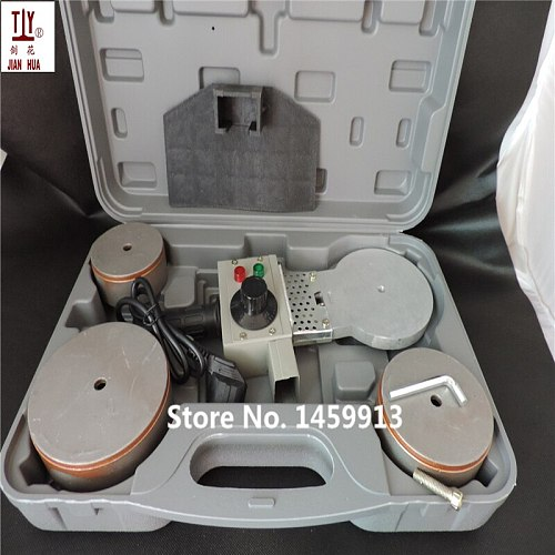 Free shipping DN75-110mm plastic pipe welder Temperature controled PPR Welding Machine AC 220V 1200W with thick plastic box