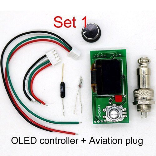 T12 STC-OLED soldering Station iron DIY parts kits T12-952 Digital Temperature Controller Soldering iron with Metal case