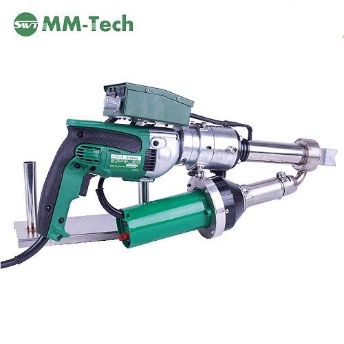 SWT-NS600C hot air manual welding gun extruder for HDPE PP polyethylene PE Welding Rod