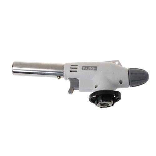 Portable Metal Flame Gun BBQ Heating Ignition Butane Camping Welding Gas Torch A69D