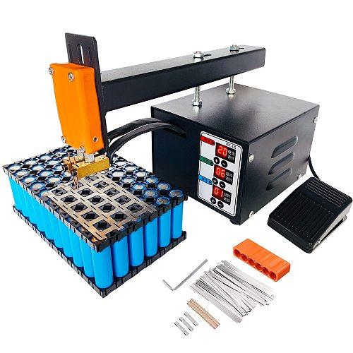 New Battery Spot Welder 18650 Lithium Batteries Contact Welding 3KW High Power Precision Pulse Nickel Strip Spot Welding Machine