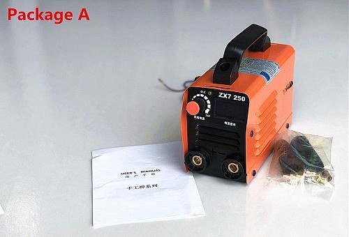 250A 110-250V Compact Mini MMA Welder Inverter ARC Welding Machine Stick Welder