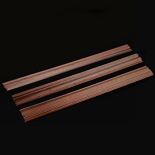 10Pcs Mild Steel Welding Rods TIG Welding Filler Rods Wire 1.6/2.4/3.2mm Gas Welding Soldering Rod 330mm Length