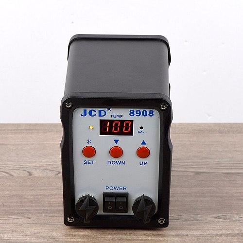 JCD 2 IN 1 750W soldering station 220V soldering iron with hot air gun Welding Rework LCD Digital SMD BGA solder station 8908
