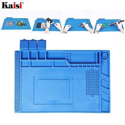Silicone mat Soldering Pad Platform Working-Mat Soldering-Station-Repair Heat-Resistant BGA ESD Insulator-Pad Maintenance
