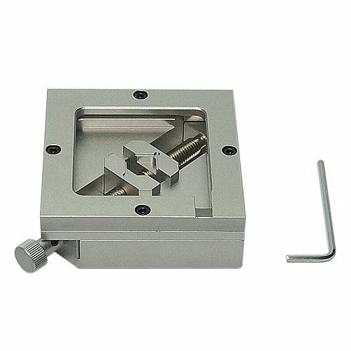 90MM Silver BGA Reballing Station Stencils Template Holder Foxture Jig For PCB Chip Soldering Rework Repair