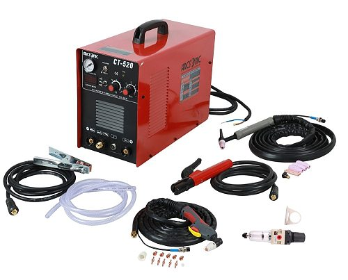 IGBT CT520 welding machine CUT 50Amps TIG 200Amps MMA 200Amps 3 in 1 welding cutting 120/240V clean cutting thickness 12mm