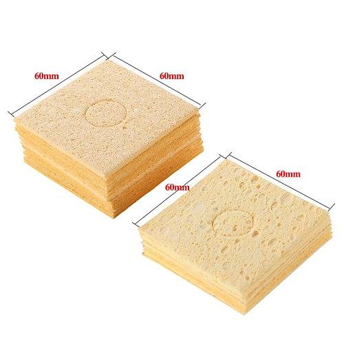 Soldering Iron Sponge Solder Tip Cleaning Sponges Cleaner Soldering Accessories