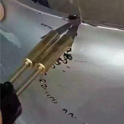 New 220-250V Hot Stapler Car Bumper Plastic Welding Torch Fairing Auto Body Tool Electric Welder Machine 0.6/0.8mm + 200 Staples