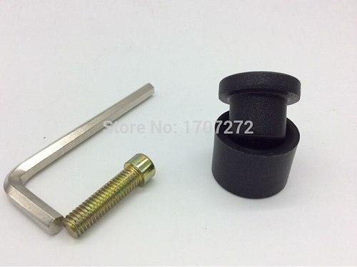welding parts, welding head, 32mm thick Welding Mold for plastic welder, black paint, thickness 6mm
