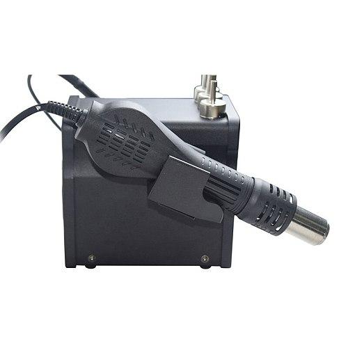 2 In 1 Eruntop 8586+ ESD Hot Air Gun Soldering Station  Welding Solder Iron For IC SMD Desoldering Rework Upgraded 8586