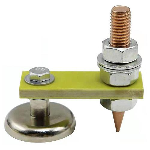 Magnetic Welding Support Ground Clamp Welding Magnetic Head Safety Wire Holder With Copper Tail Welding Equipment