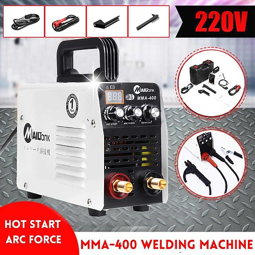 Digital Display IGBT Inverter Welder Hot Start MMA 220V Mini Arc Welder Welding Machine Tools for Welding Working Power Tools