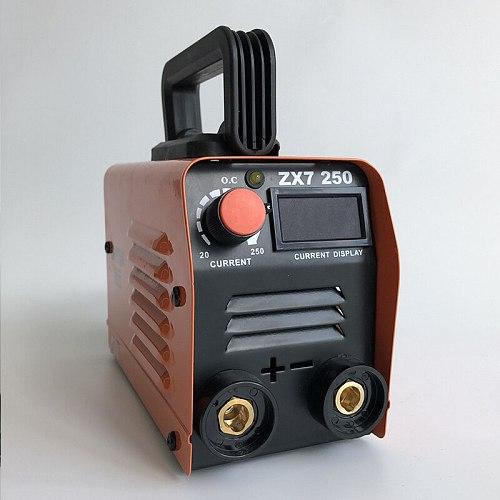 RU EU Delivery For free 250A 220V Compact Mini MMA Welder Inverter ARC Welding Machine Stick Welder