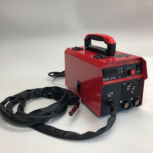 Mini gas shielded welding machine / electric welding machine two in one small dual-purpose welding machine 220V home