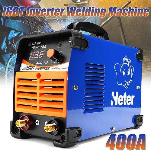 DC Inverter ARC Welder 220V IGBT MMA Welding Machine 10-400 Amp for Home Beginner DIY Welding Working Lightweight Efficient