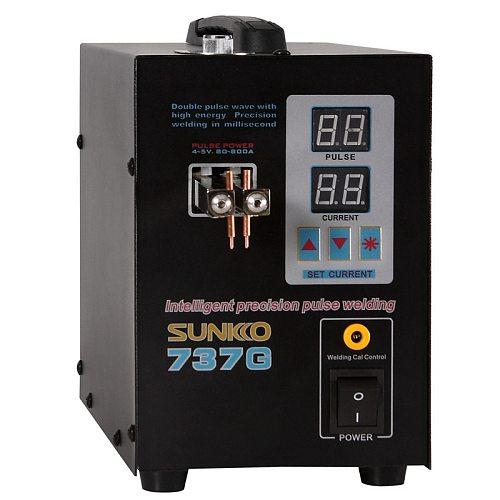 SUNKKO 737G 18650 Lithium Battery Spot Welder Machine 1.5kw LED Light Spot Welding Machine For Spot Welding Pulse